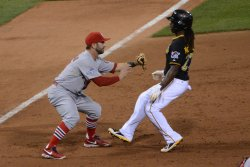 NLDS St. Louis Cardinals at Pittsburgh Pirates in Pittsburgh
