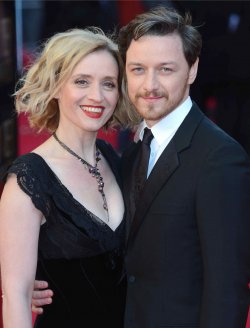 """Anne-Marie Duff and James McAvoy attend """"The Olivier Awards 2012"""" in London"""