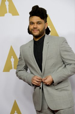 The Weeknd attends the Oscar nominees luncheon in Beverly Hills