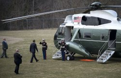 President Obama visits Walter Reed National Military Medical Center in Bethesda, Maryland