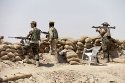Kurdish Peshmerga Forces Took Control of a Series of Villages From Islamic State militants in Northern Iraq