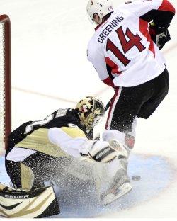 Penguins Goalie Tomas Vokoun in Pittsburgh