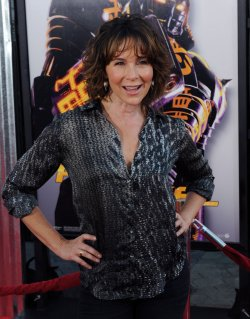 "Jennifer Grey attends the ""Real Steel"" premiere in Universal City, California"