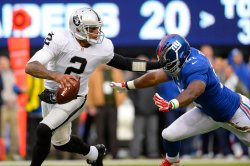 Giants vs Raiders at MetLife Stadium in New Jersey