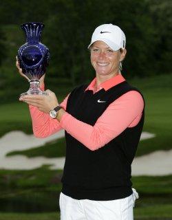 Suzann Pettersen wins the Sybase Match Play Championship at Hamilton Farm Golf Club in Gladstone NJ