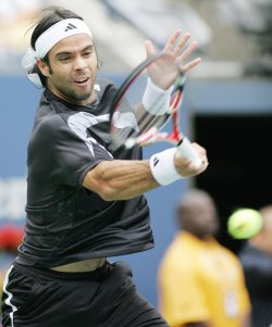 Gonzales takes on Nadal in quarter-final match at the US Open Tennis Championship in New York