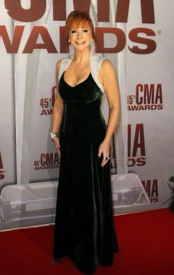Reba McEntire at the 2011 CMA Awards in Nashville