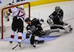 New Jersey Devils vs Los Angeles Kings in Game 4 of the Stanley Cup Finals in Los Angeles