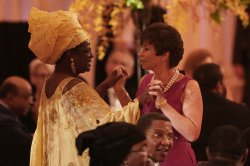 Obama Hosts White House Dinner For US-Africa Leaders Summit