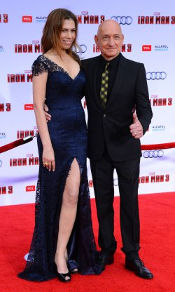 """Sir Ben Kingsley and Daniela Lavender attend the """"Iron Man 3"""" premiere in Los Angeles"""