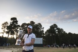 Martin Kaymer wins the 114th U.S. Open at Pinehurst No. 2 in North Carolina