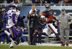 Bears and Vikings play their game in Chicago