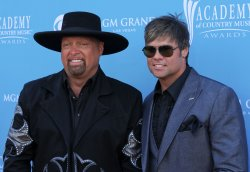Brooks and Dunn arrive at the ACM Awards in Las Vegas
