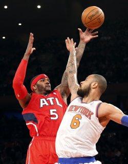 Knicks vs Hawks at Madison Square Garden