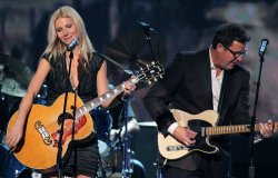 Gwyneth Paltrow performs during the Country Music Awards in Nashville