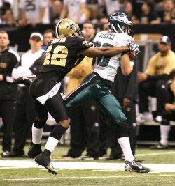 NFL Football New Orleans Saints vs Philadelphia Eagles