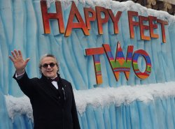 "George Miller attends the ""Happy Feet Two"" premiere in Los Angeles"