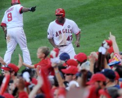 ALCS Game 3: New York Yankees at Los Angeles Angels