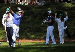 Masters Pat 3 Golf Tournament in Augusta, Georgia