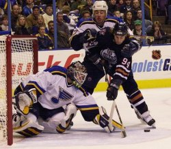 St. Louis Blues vs Edmonton Oilers hockey