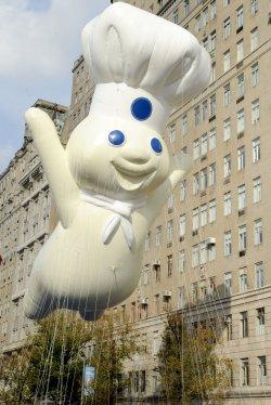 Pillsbury dough balloon at the Thanksgiving Day Parade