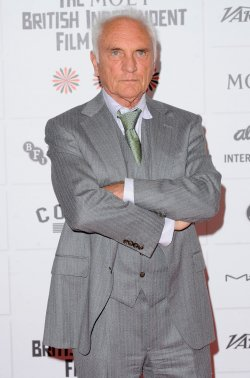 Terence Stamp attends The 15th Moet British Independent Film Awards in London.