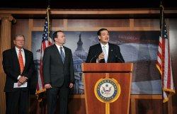 Senators Speak on Repealing President Obama's Health Care Act in Washington