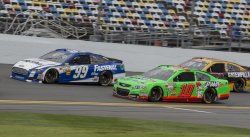 NASCAR Sprint Cup Series practice at Daytona International Speedway