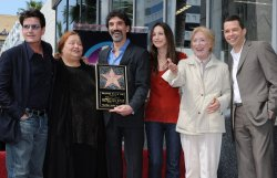 Chuck Lorre receives star on Hollywood Walk of Fame in Los Angeles