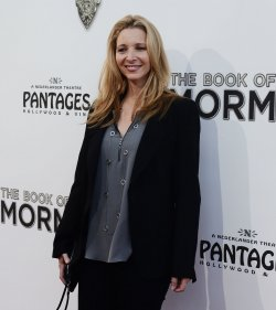 "Lisa Kudrow attends ""The Book of Mormon"" premiere in Los Angeles"