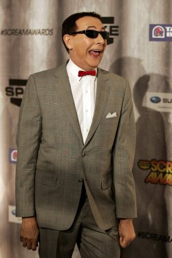 Paul Reubens arrives attends Spike TV's Scream Awards in Los Angeles