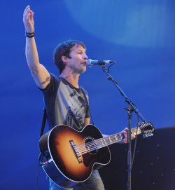 "James Blunt performs at ""Radio 2 Live in Hyde Park"" in London"