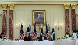 Clinton, Qureshi speak at U.S.-Pakistan Strategic Dialogue in Washington