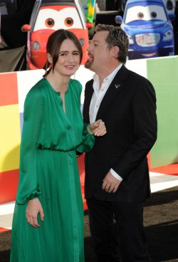 """Emily Mortimer and Eddie Izzard attend the """"Cars 2"""" premiere in Los Angeles"""
