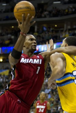 NBA Miami Heat vs Denver Nuggets in Denver