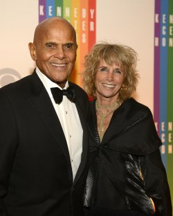 Harry Belafonte, Jr arrives for 2013 Kennedy Center Honors Gala in Washington, DC