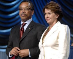 REP PELOSI SPEAKS AT NAACP COUNFERENCE