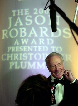 Christopher Plummer receives inaugural Jason Robards Award