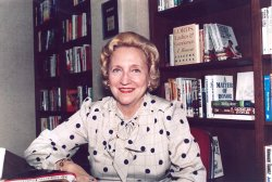 Novelist Margaret Truman Daniel