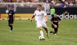 Real Madrid vs Inter Milan soccer game in St. Louis
