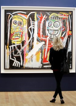 Art auction preview at Christie's