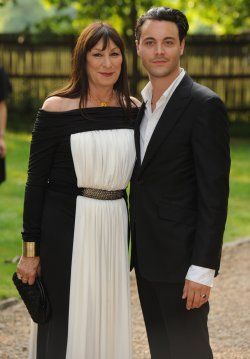 "Anjelica and Jack Huston attend ""Raisa Gorbachev Foundation Party"" in London"