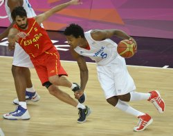 France-Spain men's basketball at 2012 Summer Olympics in London