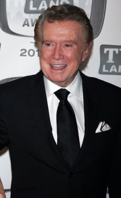 Regis Philbin arrives for the TV Land Awards in New York