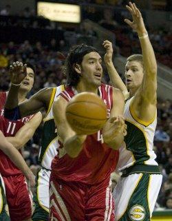 Houston Rockets vs Seattle SuperSonics