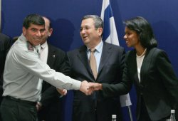 U.S. SECRETARY OF STATE RICE VISITS ISRAEL