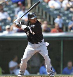 Manny Ramirez Of White Sox Bats In Fourth Inning