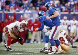 San Francisco 49ERS at New York Giants