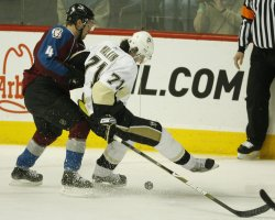 NHL Pittsburgh Penguins vs Colorado Avalanche