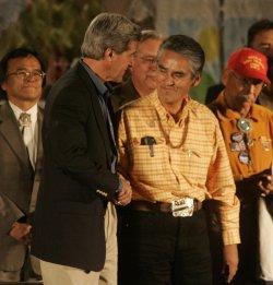 JOHN KERRY CAMPAIGNS IN FLAGSTAFF, AZ